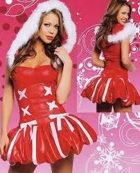 christmas princess costume built in petticoat hooded santa