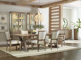 trestle dining room tables hooker furniture dining room studio 7h geo trestle dining table