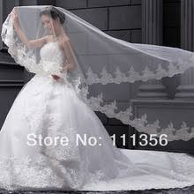 wedding accessories store popular 1 tier ivory wedding veil buy cheap 1 tier ivory wedding