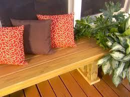 building a deck bench how tos diy