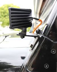 jeep light bars and mounting brackets
