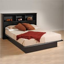 queen platform bed with headboard diy making queen platform bed