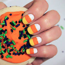 15 halloween candy corn nail art designs u0026 ideas 2016 fabulous