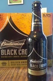 budweiser black crown beer u2013 review half assed productions