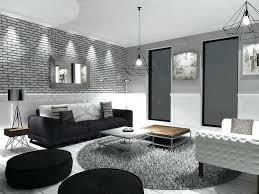 canap gris et noir decoration salon gris et blanc deco noir on d interieur moderne
