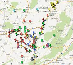 Map Of Wv Senior Series U2013 Wvga