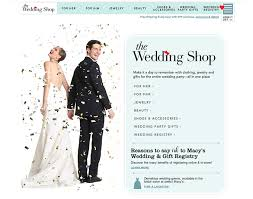 wedding registry store macy s wedding shop grace