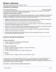 Mechanical Production Engineer Resume Mechanical Design Engineer Resume Sle 28 Images Company Resume