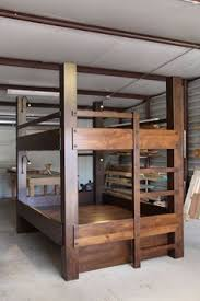 Solid Wood Bunk Bed Plans by Best 25 Homemade Bunk Beds Ideas On Pinterest Baby And Kids