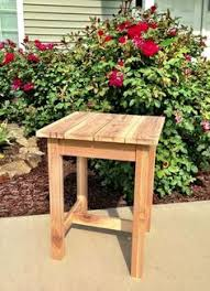 Patio End Table Plans Free by I Want To Make This Diy Furniture Plan From Ana White Com Free