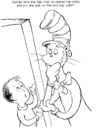 image dr seuss free coloring pages
