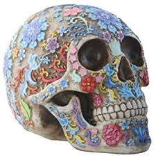 Amazon 7 Piece Day of the Dead Sugar Skull Decor Set 1 Dia