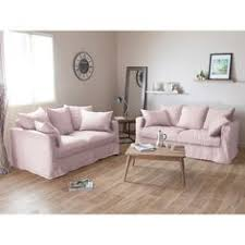 canap home spirit canapé en tissu coton et rotin de kubu fauteuil salons