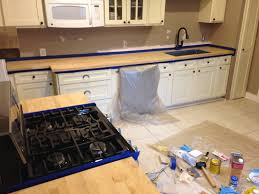 use your words little girl bungalow kitchen reno staining and bungalow kitchen reno staining and sealing the butcher block countertops