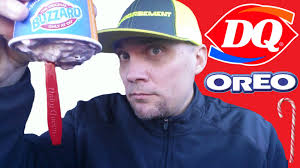 dairy queen thanksgiving new dairy queen candy cane oreo blizzard review 208 youtube