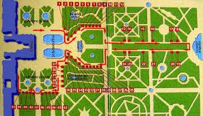 giardini di versailles il viale reale