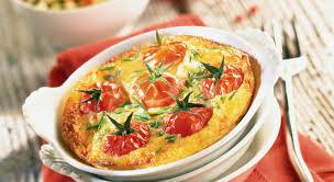 cuisiner les tomates cerises des délicieux clafoutis au tourteau et aux tomates cerises