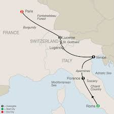 Rome On World Map Italy Tours Globus Italy Vacation Packages