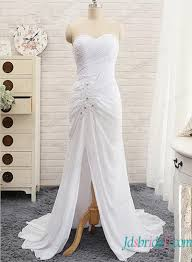 cheap casual high low wedding dresses under 500