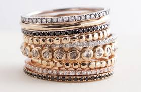 stackable wedding bands stackable wedding bands assorted metals
