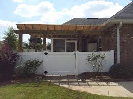 Sunscreen Patios And Pergolas by Pergola Builder Contractor Archadeck Of Central Ga