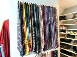 Ideas For Wall Mounted Tie Rack Design Tie Storage Premier Swivel Tie Rack Chrome Tie Storage Box Leather