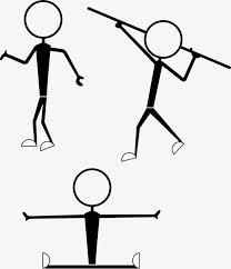 stickman archery matchstick men archery sketch png image for