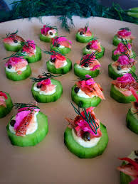 healthy canapes dinner smoked trout canapes most of the