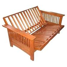 solid wood futon frame bi fold sofa bed wood futon frame 1025theparty com