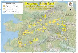 Beaver Lake Map Doyon Limited Alatna