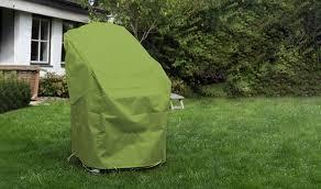 housse de protection jardin housse de protection imperméable verte fauteuils et chaises de jardin