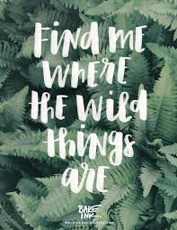 find me where the wild things are home decor hand lettered wall