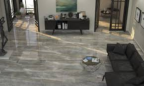 High Gloss Tile Effect Laminate Flooring Gloss Tile Flooring Flooring Designs