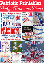 diy kid u0027s patriotic bunting an easy 4th of july craft