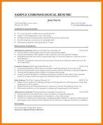 chronological resume exle chronological resume sle paso evolist co