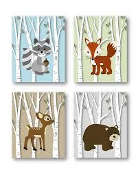 Woodland Animals Nursery Decor Woodland Nursery Decor Woodland Nursery Forest Animals