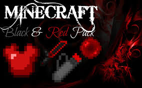 minecraft texture pack review pvp black and red texture pack