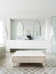posh ensuite bathroom deco mirrors with bevelled edges small