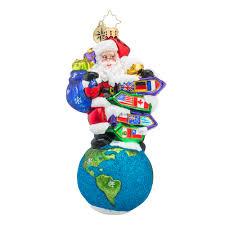 christopher radko ornaments radko santa s big adventure ornament