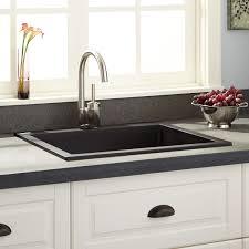 Cheap Kitchen Sinks Black Modern Kitchen Composite Sinks Vs Stainless Steel Belfast Sink