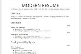 download how to make a resume on google docs