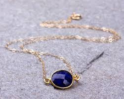 gold blue stone necklace images Lapis lazuli necklace bridesmaid necklace royal blue necklace jpg