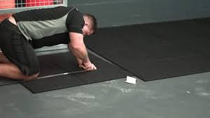 how to install rubber flooring the technology u0026 the proper tools