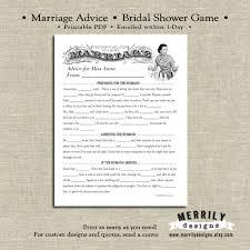 Words Of Wisdom Bridal Shower Game Retro Bridal Shower Game Printable Retro Housewife Game