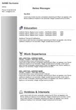Resume Templates To Download For Free Free Resume Templates To Download Examples Of Resumes
