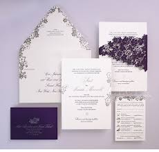 invitations for weddings invitations purple wedding invitations metallic wedding