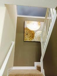 back wall of stairs ralph lauren regent metallic paint wedding