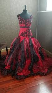 red and black gothic wedding dresses weddbook clothes