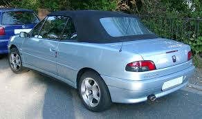 File Peugeot 306 Cabrio Rear 20071007 Jpg Wikimedia Commons