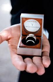 wedding rings in box ethical eco alternative engagement and wedding rings